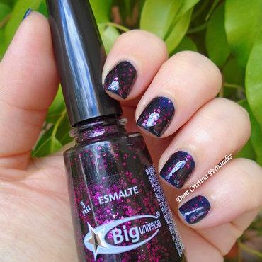 Gemini nail art by Dora Cristina Fernandes