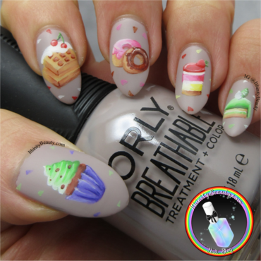 Sweet Bakery Delights nail art by Ithfifi Williams