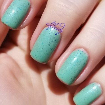 Polish M Key Lime Swatch by Jenette Maitland-Tomblin