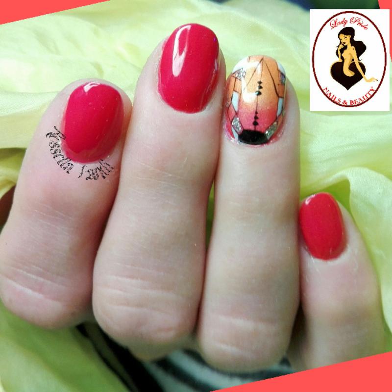 Grafic Mix Design nail art by Rossella Landi