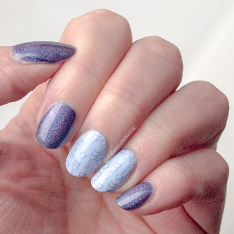 #52weeknailchallenge - week 16: Zodiac nail art by What's on my nails today?