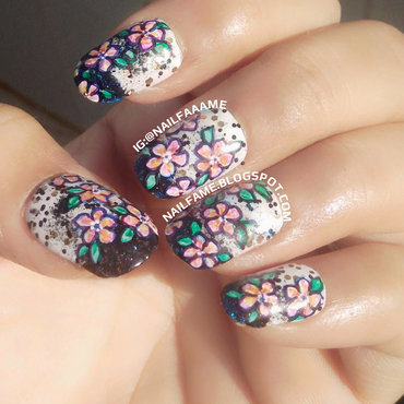 Spring Summer Flowers nail art by Nailfame