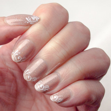 #52weeknailchallenge - week 17: French Tip nail art by What's on my nails today?