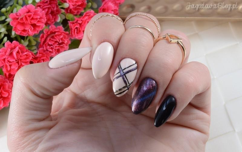 Cat Eye  nail art by Jadwiga