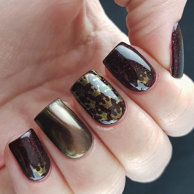 Royal nail art by Emmelie Slotboom