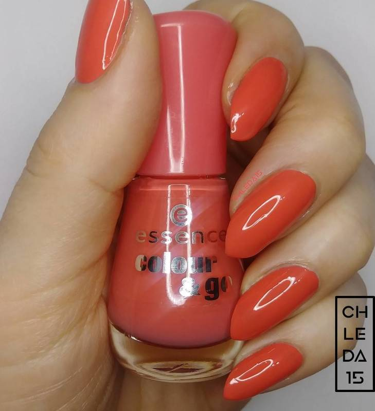 """Essence 109 """"Off to Miami!"""" Swatch by chleda15"""