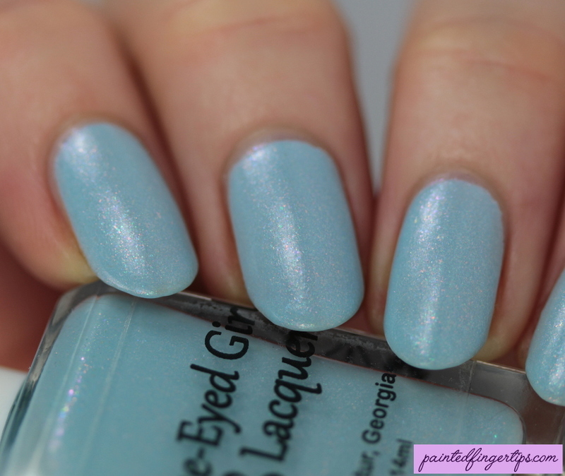 Blue-Eyed Girl Lacquer The Ancient Power Swatch by Kerry_Fingertips