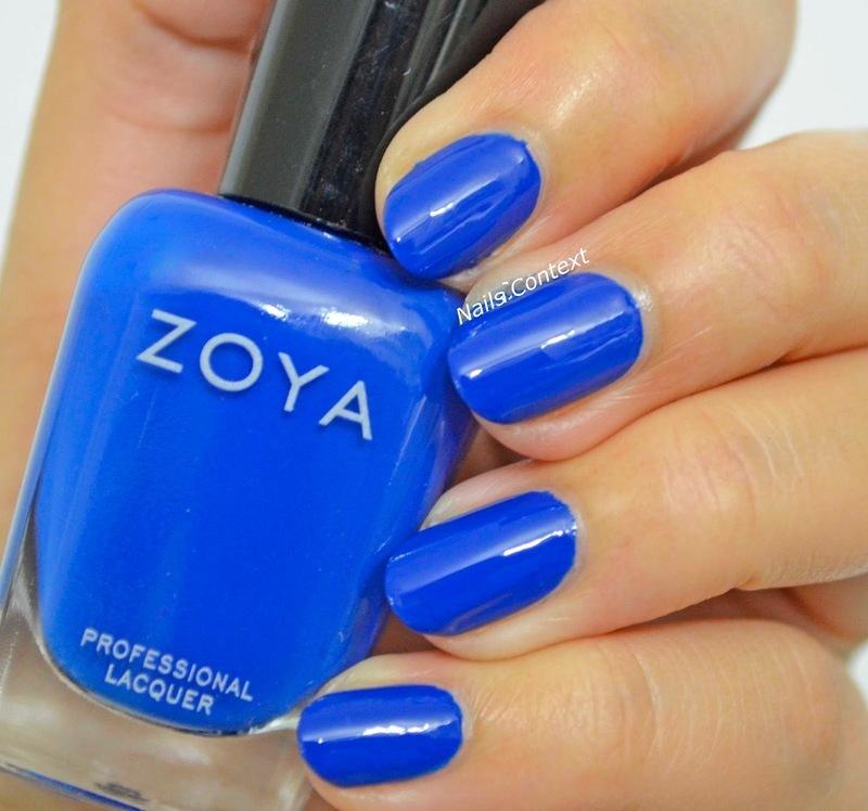 Zoya Sia Swatch by NailsContext