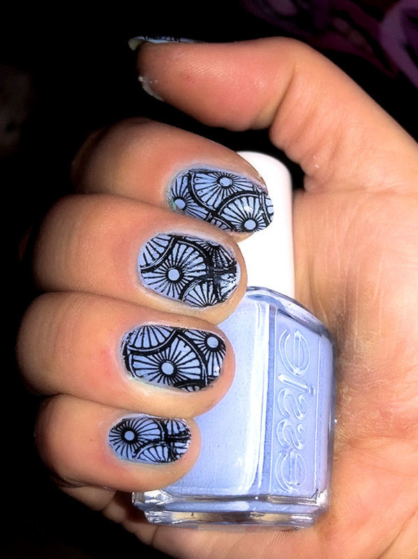 ARABESQUE nail art by FRANCESCA SPORTELLA