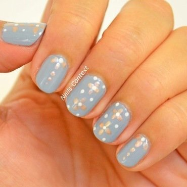 Delicate Pattern nail art by NailsContext