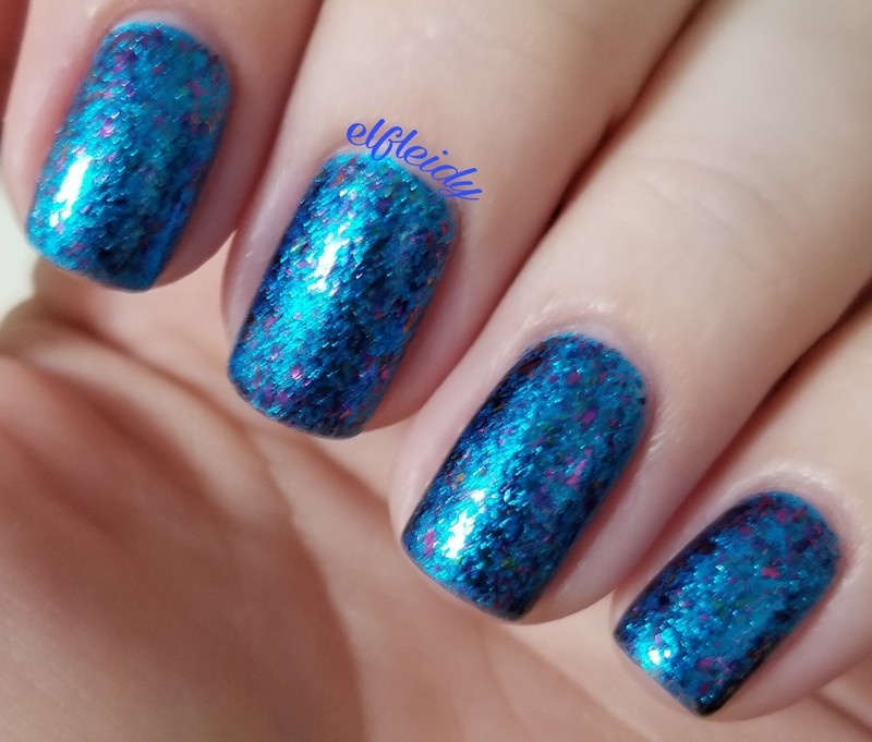 ILNP Ice House and ILNP Blueprint Swatch by Jenette Maitland-Tomblin