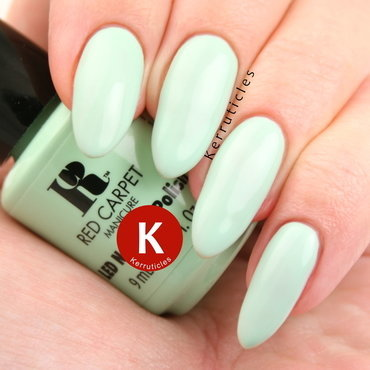 Red Carpet Manicure Vintage Mint Swatch by Claire Kerr