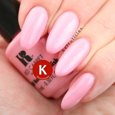 Red Carpet Manicure Smell The Roses Swatch by Claire Kerr