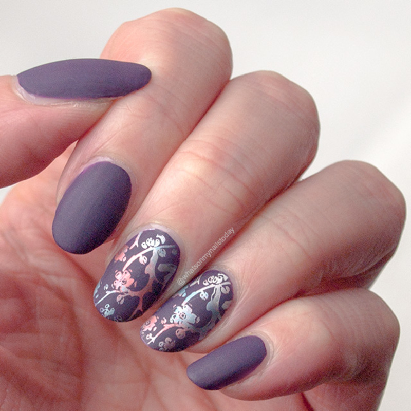 Friday Triad: inspired by PolishPixie92 nail art by What's on my nails today?