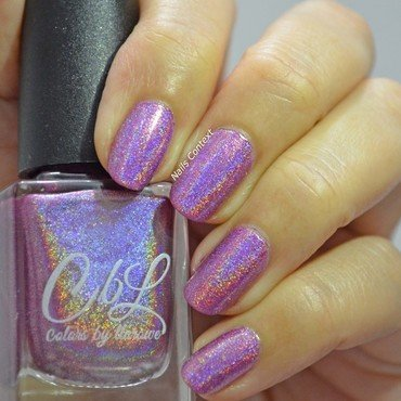 CbL English Rose Swatch by NailsContext