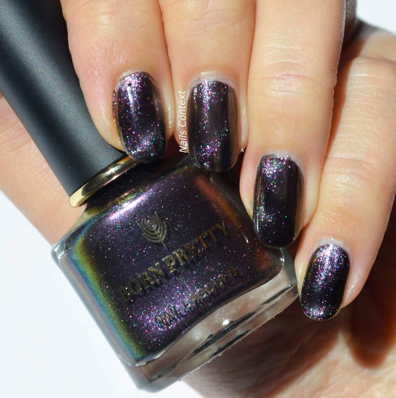 Born Pretty Store Greenland Night Swatch by NailsContext