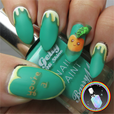 You're A Peach nail art by Ithfifi Williams