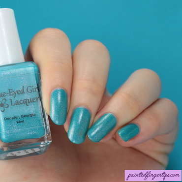 Blue-Eyed Girl Lacquer Welcome to the Coast Swatch by Kerry_Fingertips
