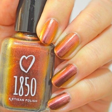1850 Artisan Polish Garibaldi Swatch by NailsContext