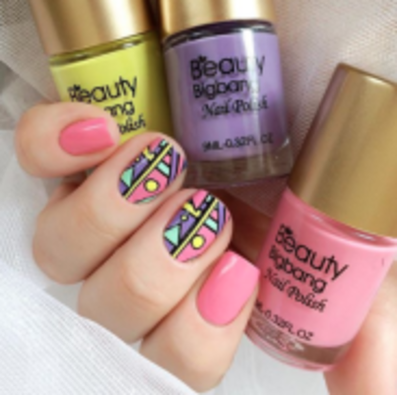 beauty bigbang stamping nail polish nail art by beautynailpolish