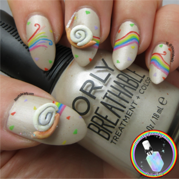 3D Snail Nails nail art by Ithfifi Williams