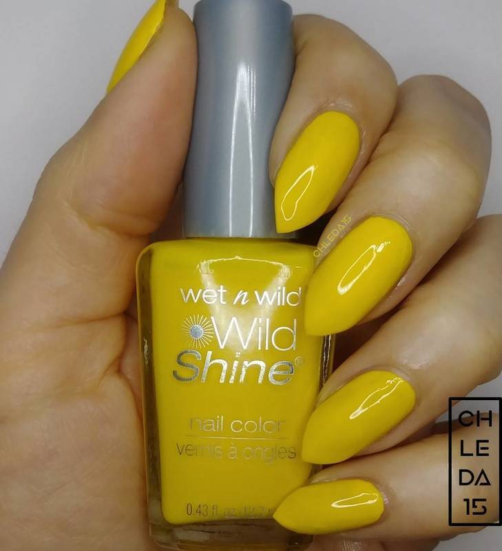 """Wet n Wild 34352 """"Get Lucky"""" Swatch by chleda15"""