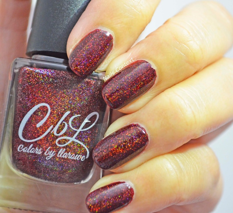 Colors By Llarowe Love Actually Swatch by NailsContext