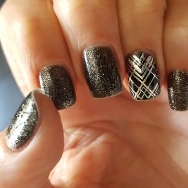 Shinning nail art by Katarinna