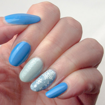 #52weeknailchallenge - week 23: Winter nail art by What's on my nails today?