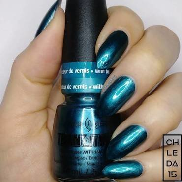"China Glaze 1178/81248 ""Altered Reality"" Swatch by chleda15"