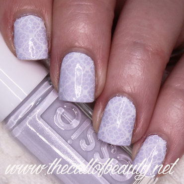 Wedding Lace nail art by The Call of Beauty