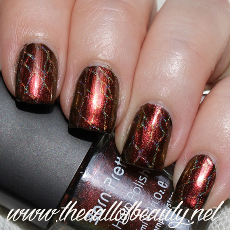 Game of Thrones Mani nail art by The Call of Beauty