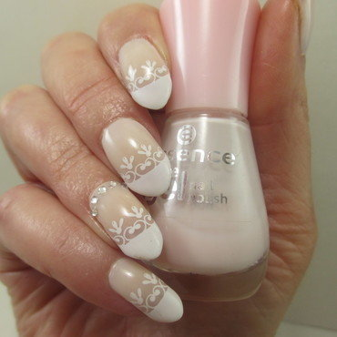 French nail art by NinaB