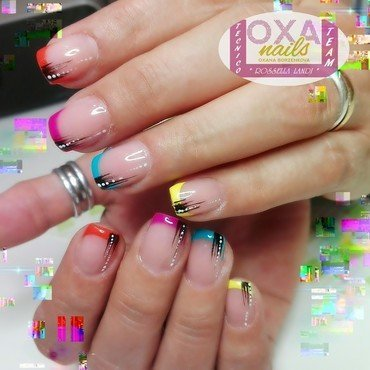 Colors nail art by Rossella Landi