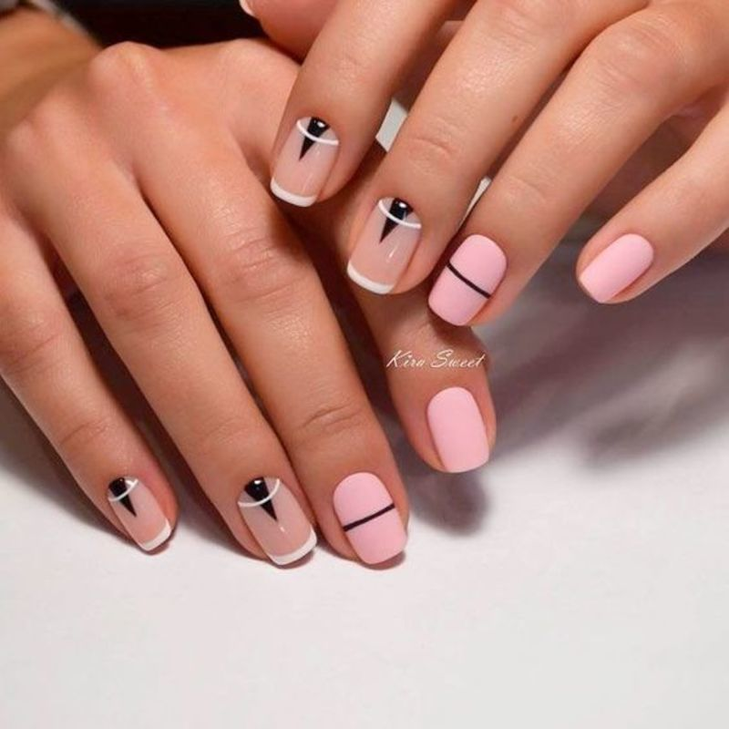 French manicure nail art designs 2018 nail art by beautynailpolish - French Manicure Nail Art Designs 2018 Nail Art By Beautynailpolish