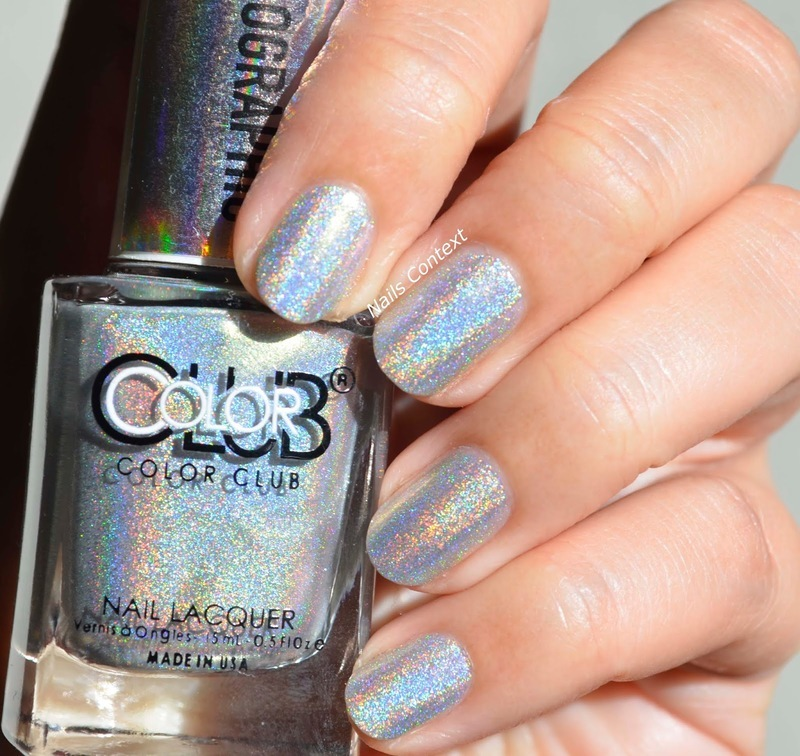 Colorclub Enchanted Swatch by NailsContext