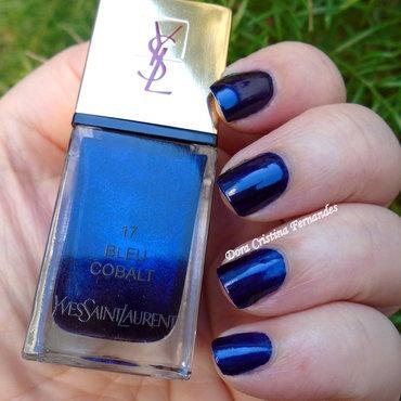 Yves Saint Laurent Bleu Cobalt 17 Swatch by Dora Cristina Fernandes