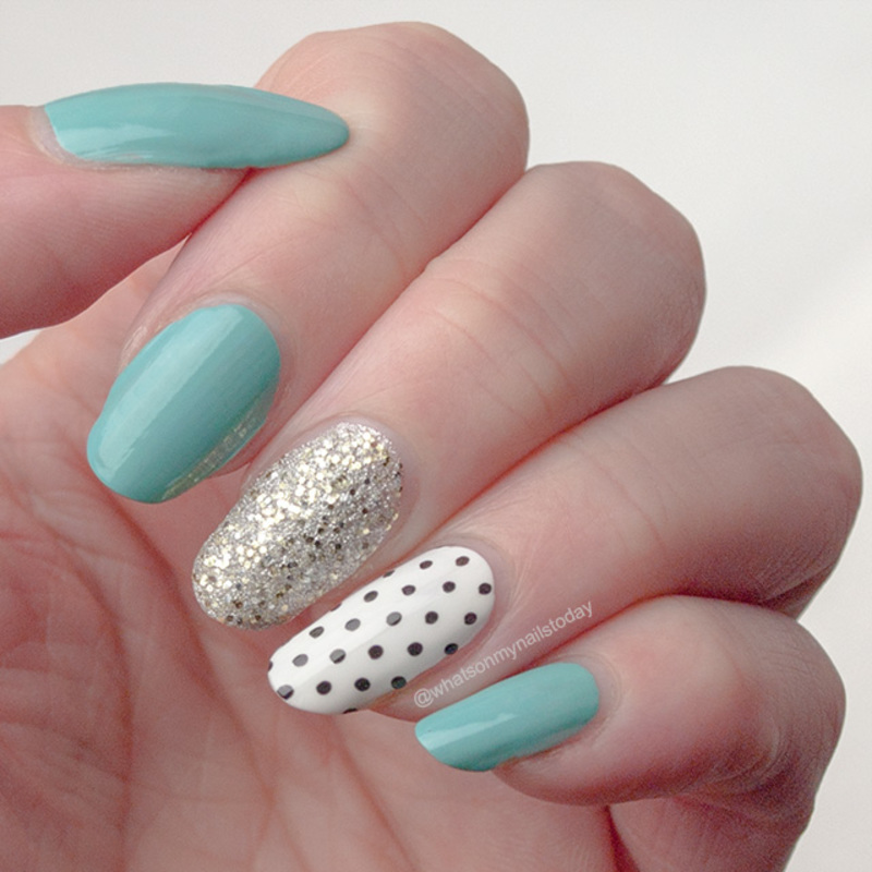 #52weeknailchallenge - week 25: Polka dots nail art by What's on my nails today?