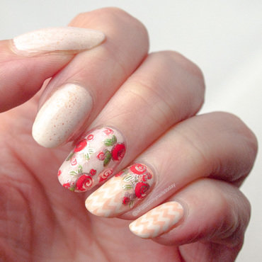 Friday Triad: inspired by @hannys_manis nail art by What's on my nails today?