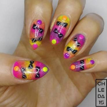 2018 #27 nail art by chleda15