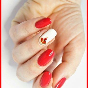 Rhinestones nail art by ELIZA OK-W