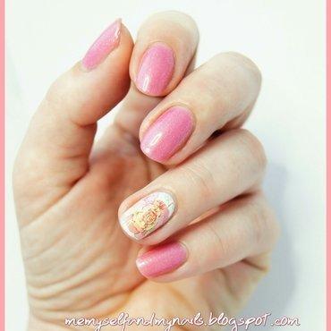 Roses nail art by ELIZA OK-W