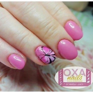 Little butterfly2 nail art by Rossella Landi