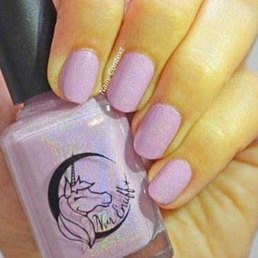 Nvr Enuff Polish Unicorn Fluff Swatch by NailsContext