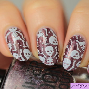 Nail art skeletons thumb370f
