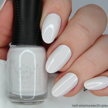 Orly Barely There Swatch by Nail Crazinesss