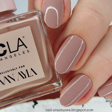 NCLA Tan Lines Swatch by Nail Crazinesss