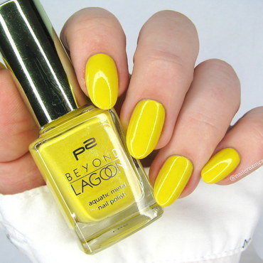 P2 Sunburst Yellow Swatch by Nail Crazinesss
