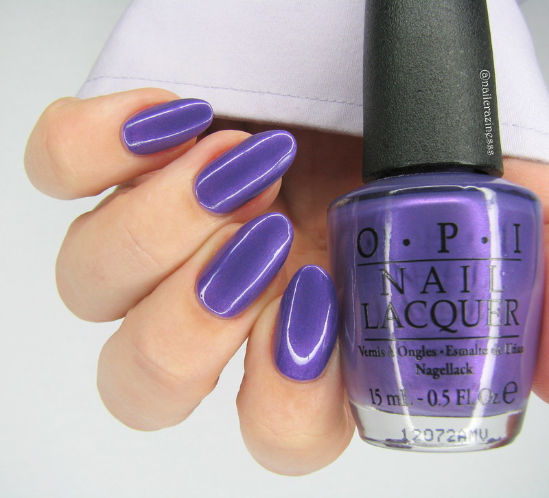 OPI Purple With A Purpose Swatch by Nail Crazinesss