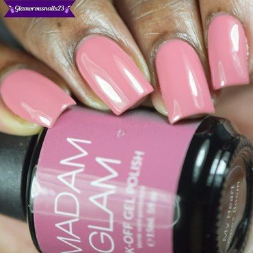 Madam Glam My Heart Goes Boom Swatch by glamorousnails23